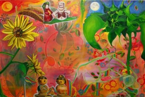 upful,upfulcreations,rasta,organic,virgendelacaridad,painting,art,design,acrylic,oil